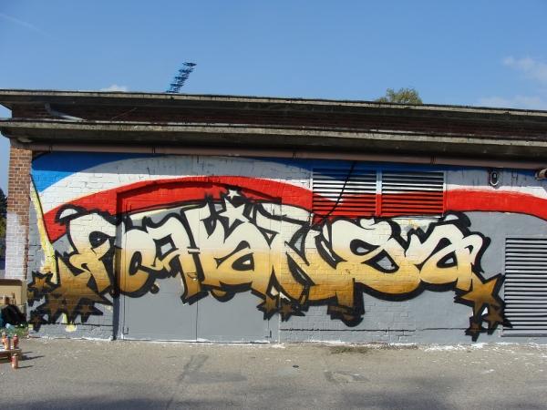 Graffiti-Projekt Platzwartanlage Foto 09